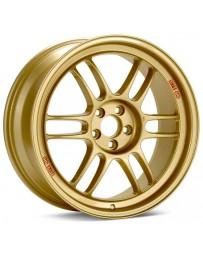 Enkei RPF1 17x8 5x100 45mm Offset 73mm Bore Gold Wheel 02-10 WRX & 04 STI