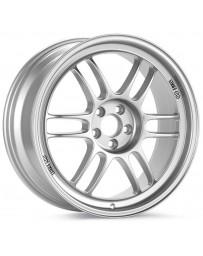 Enkei RPF1 17x8 5x100 45mm Offset 73mm Bore Silver Wheel 02-10 WRX & 04 STI