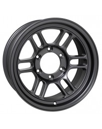 Enkei RPT1 16x8 6x139.7 Bolt Pattern +0 Offset 108.5 Bore Matte Dark Gunmetallic Wheel