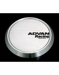 Advan Racing 73mm Flat Centercap - Silver Alumite