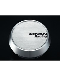 Advan Racing 73mm Middle Centercap - Silver Alumite