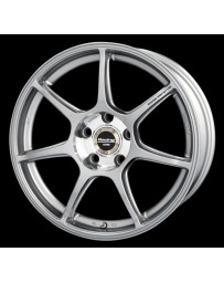 Enkei RS+M 17x8 5x100 35mm Offset 75mm Bore Silver Wheel SRT-4 / FR-S / BRZ