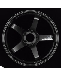 Advan Racing GT 18x12.0 +27 5-114.3 Semi Gloss Black Wheel