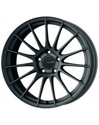 Enkei RS05-RR 18x10.5 22mm ET 5x114.3 75.0 Bore Matte Gunmetal Wheel Evo 10