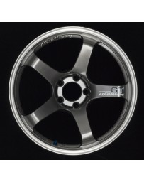 Advan Racing GT 19x10.5 +25 5-114.3 Machining & Racing Hyper Black Wheel