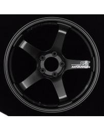 Advan Racing GT 18x11.0 +30 5-114.3 Semi Gloss Black Wheel
