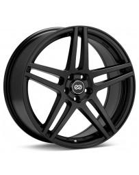Enkei RSF5 18x8 40mm Offset 5x108 Bolt Pattern 72.6mm Bore Dia Matte Black Wheel