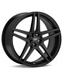 Enkei RSF5 17x7.5 40mm Offset 5x100 Bolt Pattern 72.6mm Bore Dia Black Wheel