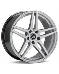 Enkei RSF5 16x7 45mm Offset 5x114.3 Bolt Pattern Hyper Silver Wheel