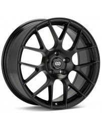 Enkei Raijin 18x8 35mm Offset 5x100 Bolt Pattern Matte Black Wheel
