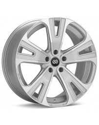 Enkei Universal SVX Truck & SUV 18x8 50mm Offset 5x127 Bolt 72.6mm Bore Silver Machined Wheel