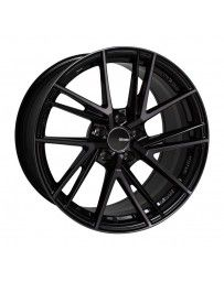 Enkei TD5 18x8.0 5x114.3 35mm Offset 72.6mm Bore Pearl Black (Machined Spoke Black Clearcoat) Wheel