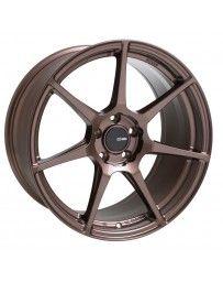 Enkei TFR 19x9.5 5x114.3 15mm Offset 72.6 Bore Diameter Copper Wheel
