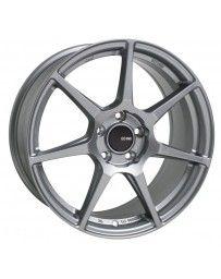 Enkei TFR 17x8 5x114.3 35mm Offset 72.6 Bore Diameter Storm Gray Wheel