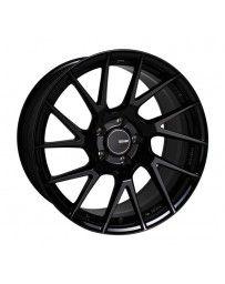 Enkei TM7 17x8 5x114.3 35mm Offset 72.60 Bore Black Wheel