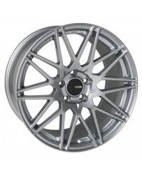 Enkei TMS 17x9.0 45mm Offset 5x100 Bolt Pattern 72.6mm Bore Storm Gray Wheel