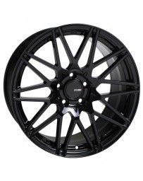 Enkei TMS 18x8 5x112 45mm Offset 72.6mm Bore Gloss Black Wheel