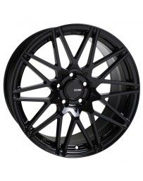 Enkei TMS 18x8.5 45mm Offset 5x100 Bolt Pattern 72.6mm Bore Gloss Black Wheel