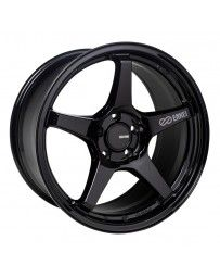 Enkei TS-5 18x9.5 5x100 45mm Offset 72.6mm Bore Gloss Black