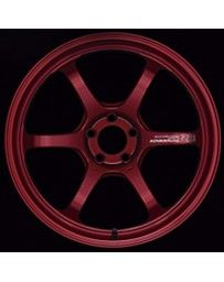 Advan Racing R6 20x9 +42mm 5-114.3 Racing Candy Red Wheel