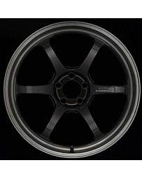 Advan Racing R6 20x9.5 +22mm 5-120 Machining & Black Coating Graphite Wheel