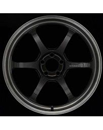 Advan Racing R6 20x10 +35mm 5-114.3 Machining & Black Coating Graphite Wheel
