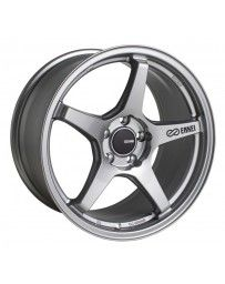 Enkei TS-5 17x9 5x100 45mm Offset 72.6mm Bore Storm Grey