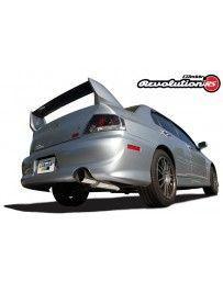 GReddy Revolution RS Catback Exhaust System Mitsubishi IX 06-07 Mitsubishi Evo VIII 03-05