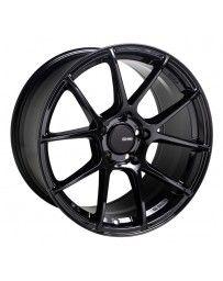 Enkei TS-V 18x9.5 5x100 45mm Offset 72.6mm Bore Glass Black Wheel