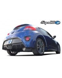 GReddy Supreme SP Catback Exhaust with Dual 102mm GReddy Engraved Tips Hyundai Veloster Turbo 1.6L 12-16