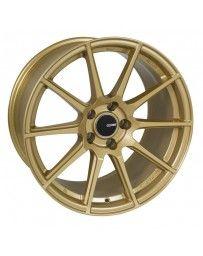 Enkei TS10 18x8 45mm Offset 5x100 Bolt Pattern 72.6mm Bore Dia Gold Wheel