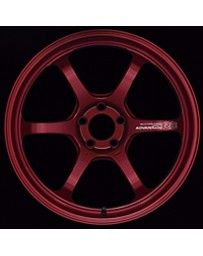 Advan Racing R6 20x10.5 +34mm 5-120 Racing Candy Red Wheel