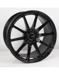 Enkei TS10 18x9.5 5x114.3 15mm Offset 72.6mm Bore Black Wheel