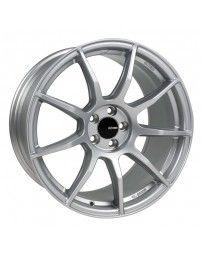 Enkei TS9 18x8.5 5x100 45mm Offset 72.6mm Bore Platinum Grey