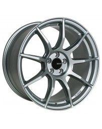 Enkei TS9 18x8 5x108 45mm offset 72.6mm Bore Platinum Grey