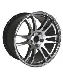 Enkei TSP6 18x8.5 45mm Offset 5x100 Bolt Pattern 72.6 Bore Hyper Silver Wheel