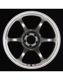 Advan Racing RG-D2 18x10.0 +22 5-114.3 Machining & Racing Hyper Black Wheel