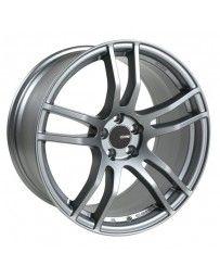 Enkei TX5 17x8 5x112 45mm Offset 72.6mm Bore Platinum Grey