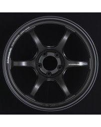 Advan Racing RG-D2 18x9.5 +35 5-114.3 Semi Gloss Black Wheel