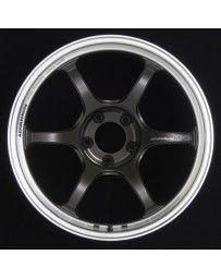 Advan Racing RG-D2 17x9.0 +45 5-114.3 Machining & Black Gunmetallic Wheel