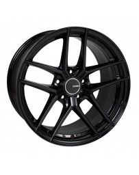 Enkei TY5 18x8 5x108 40mm Offset 72.6mm Bore Black Wheel