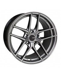 Enkei TY5 18x9.5 5x120 45mm Offset 72.6mm Bore Hyper Silver Wheel