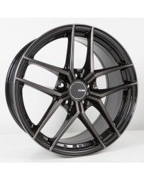 Enkei TY5 18x9.5 5x114.3 35mm Offset 72.6mm Bore Pearl Black Wheel
