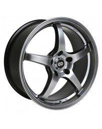 Enkei VR5 18x8 40mm Offset 5x110 Bolt Pattern 72.6 Bore Dia Hyper Black Wheel