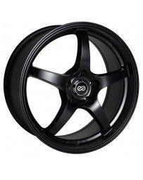 Enkei VR5 18x8 45mm Offset 5x100 Bolt Pattern 72.6 Bore Dia Matte Black Wheel