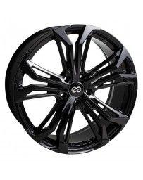 Enkei Vortex 5 Wheel 17x7.5 40mm Offset 5x114.3mm Bore - Black
