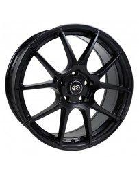 Enkei YS5 17x7.5 4x100 42mm Offset 72.6mm Bore Black Wheel