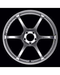 Advan Racing RGIII 19x10.5 +25 5-114.3 Racing Hyper Black Wheel