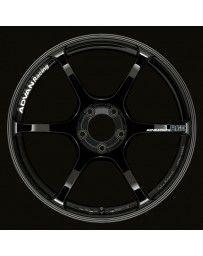 Advan Racing RGIII 19x10.5 +25 5-114.3 Racing Gloss Black Wheel
