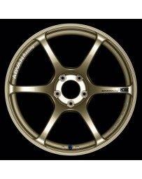 Advan Racing RGIII 18x9.5 +45 5-114.3 Racing Gold Metallic Wheel